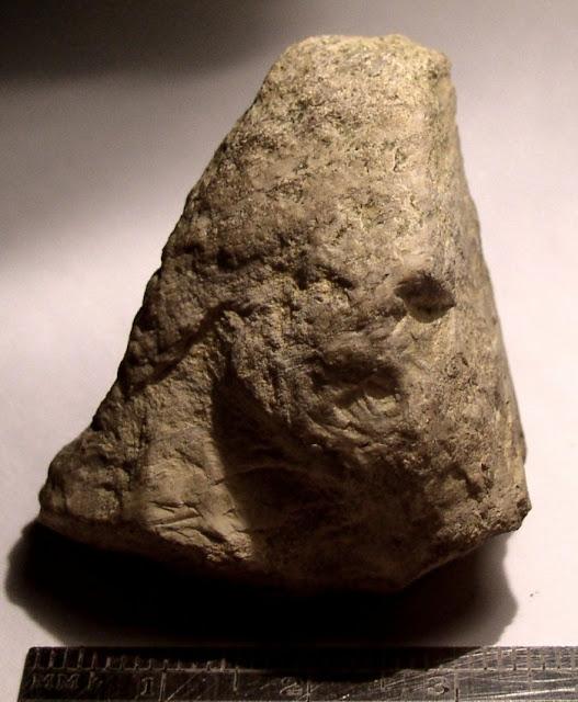 Limestone Figure, 33GU218, Guernsey County, Ohio