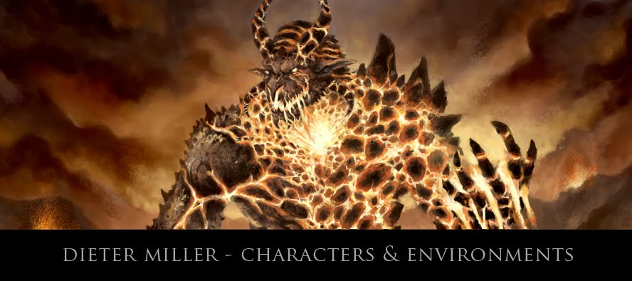 Dieter Miller - Characters and Environments