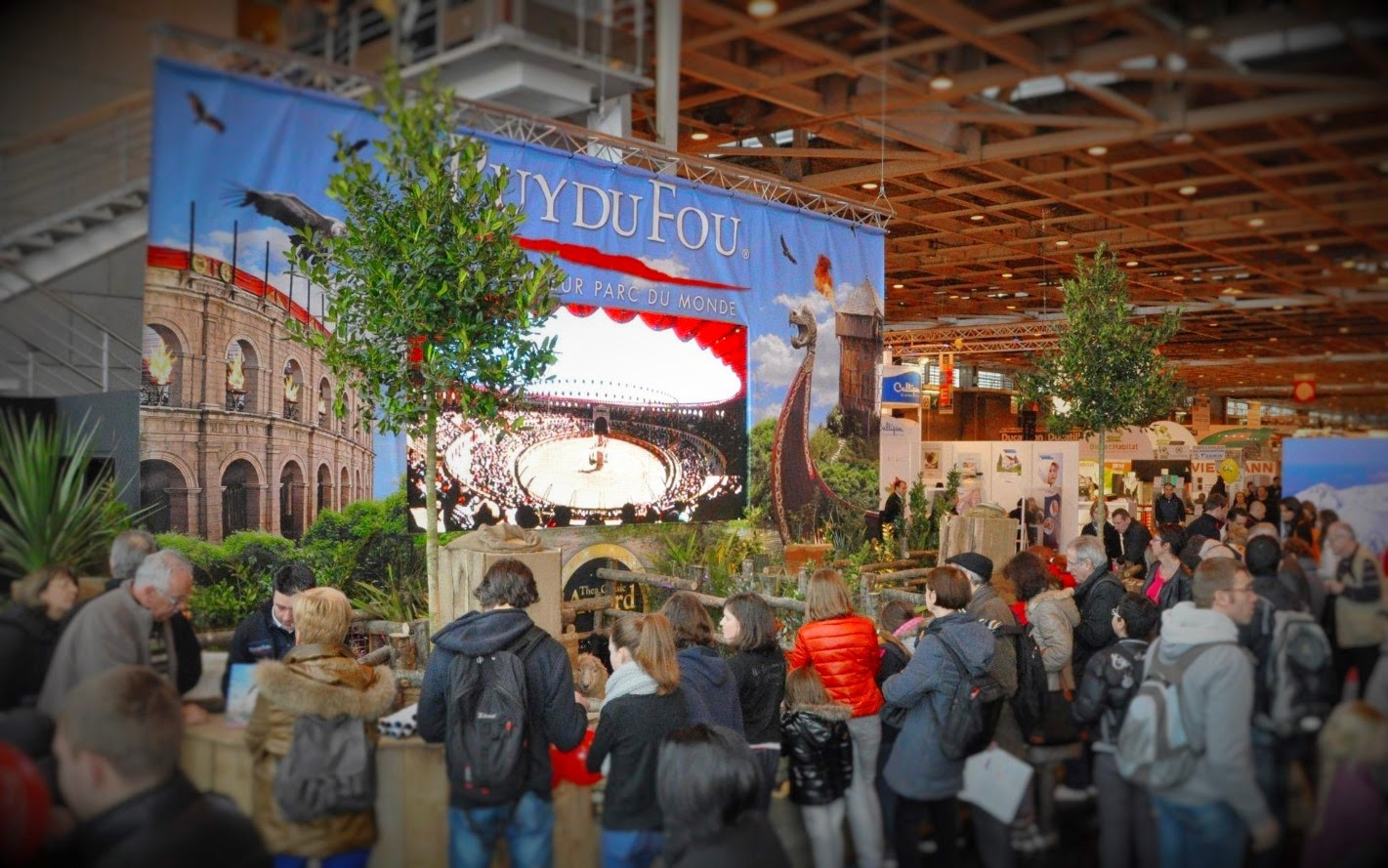 Parks trip le puy du fou au salon international de l - Tarif parking salon de l agriculture ...