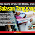 balasan tanggang. dulu buang emak, kini dihalau anak