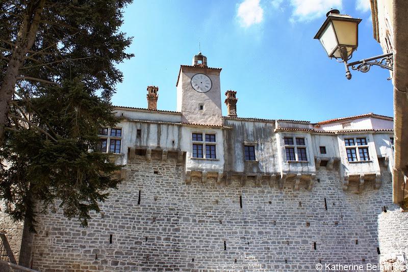 Pazin Kastel Istria Croatia Travel
