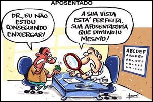Aposentados terão reajuste de 6,08% em 2012.