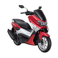 YAMAHA NMAX NON ABS RED
