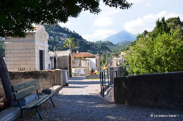 Menton - cimetière du Vieux Château