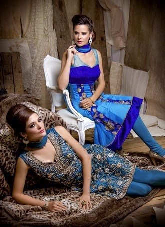 Mongas Party Wear Dresses 2014
