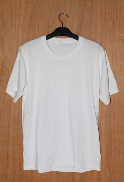 Kaos Polos Putih Polo Shirt Murah