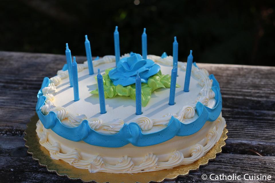 Catholic Cuisine Happy Birthday Blessed Mother
