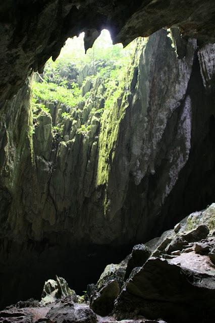jaskinie Malezja