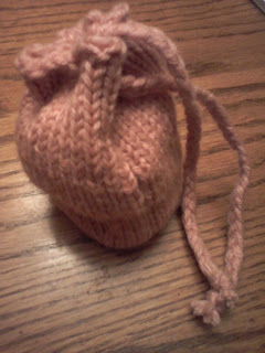 Knit Dice Bag