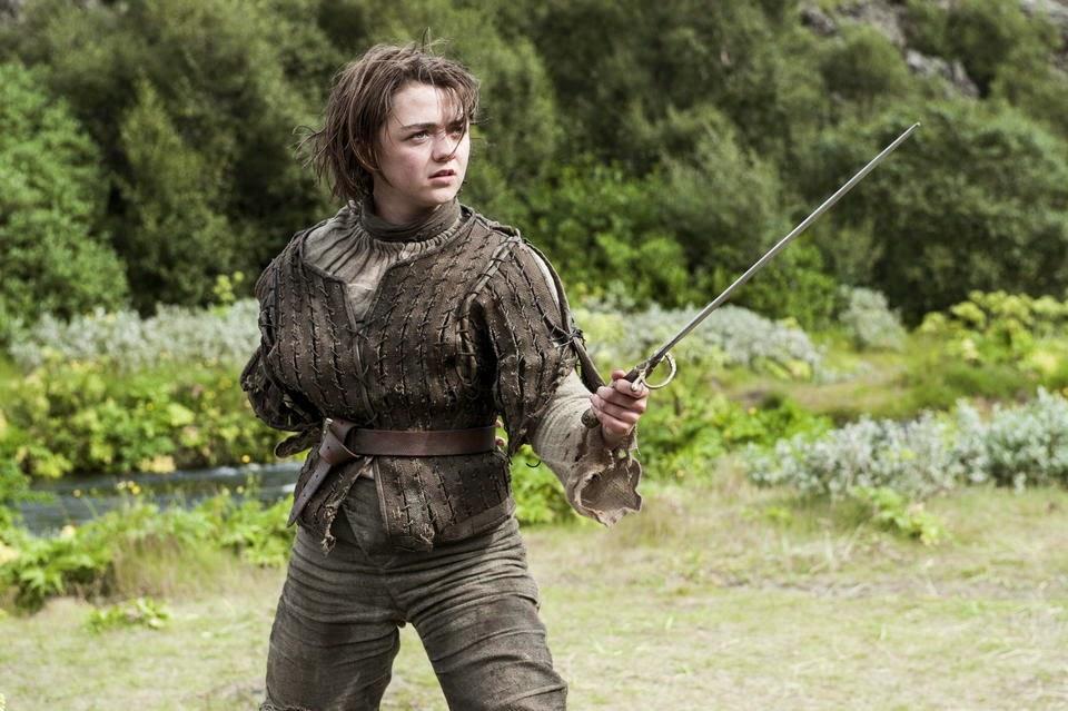 Arya Stark en el episodio 4x05 de Juego de Tronos