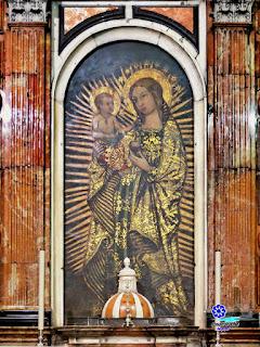 Imagen de la Virgen del Coral - Iglesia de San Ildefonso - Sevilla