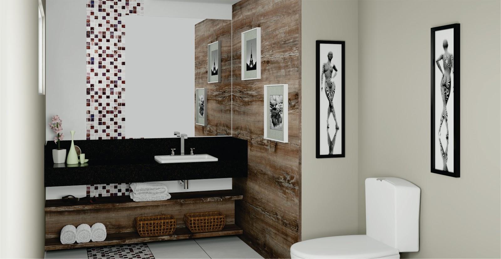 #5E4A38 MaxxPrime : Banheiros e Lavabos 1600x827 px Banheiros Pequenos E Lavabos 343