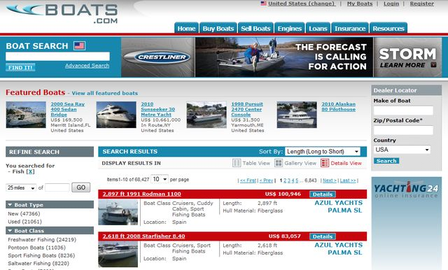 Boats.com for Buy Used Fishing Boats
