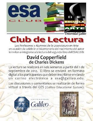 Club de Lectura Escuela de Superior de Arte Universidad Galileo