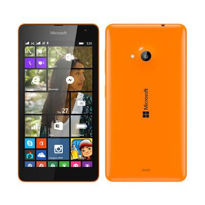 The Best Product 2015 Microsoft Lumia 535 Orange Smartphone [8 GB]