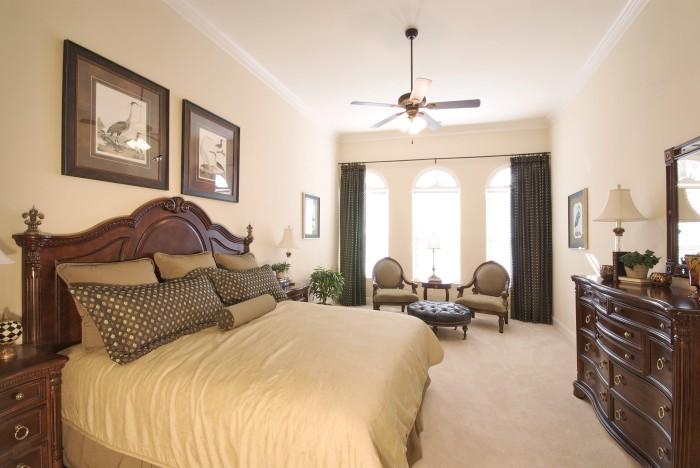 D coration de chambre coucher principale d cor de for Decoration des chambre a coucher