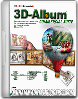 3D Album Commercial Suite 3
