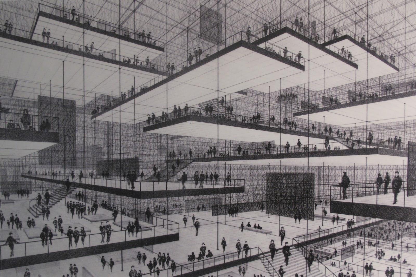 Exhibition Hall D Model : Bauzeitgeist austellung das architekturmodell werkzeug