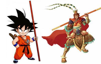 Konsep dan Desain Gambar Sketsa Karakter Dragon Ball Z
