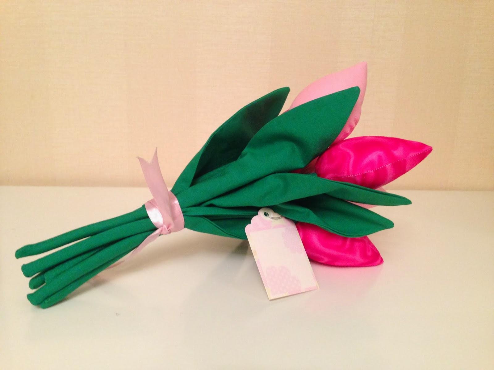 тильда-тюльпаны