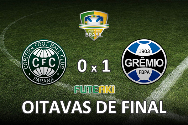 Veja o resumo da partida com o gol e os melhores momentos de   Coritiba 0x1 Grêmio pelas oitavas de final da Copa do Brasil 2015.