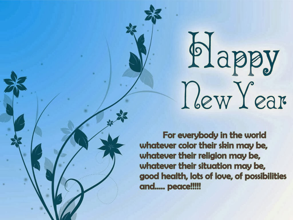 New Year Greeting Messages 2014 New Year 2014 Wishes: ...