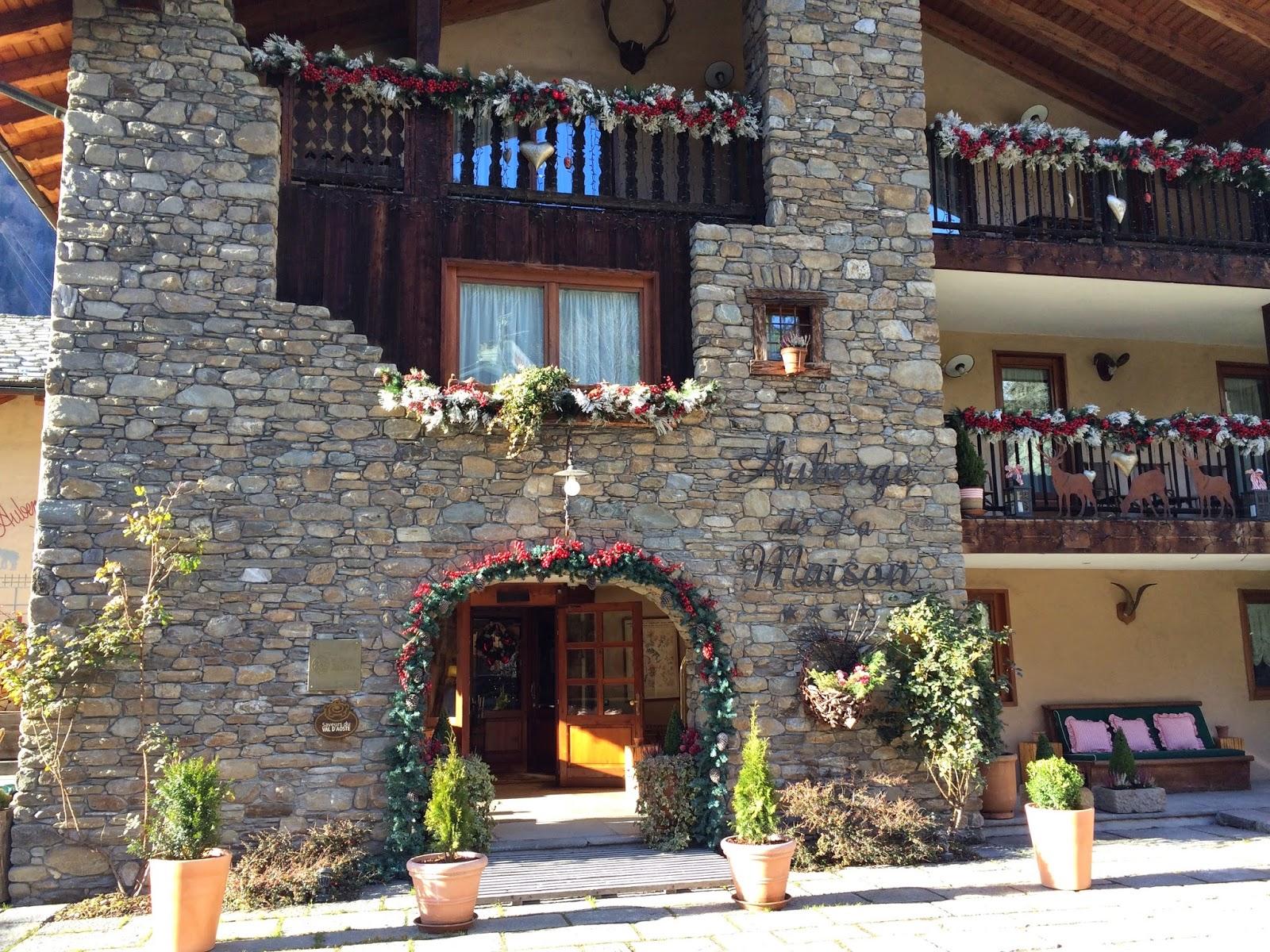 Auberge de la maison montagna incantata fourfancy magazine for Auberge la maison courmayeur