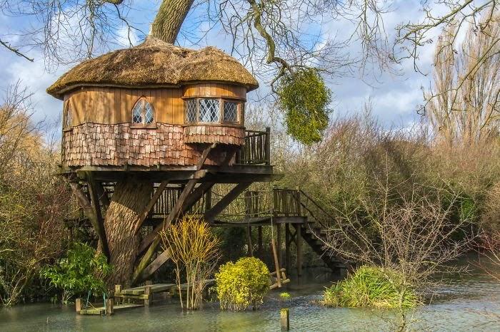 Nhà cây kiến trúc cổ điển ở Amberley, Anh