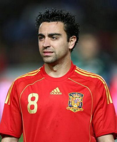 elsa novia xavi hernandez real madrid  xavi hernandez on all super stars xavi hernandez profile pics and