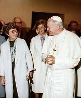 João Paulo II, Chiara Lubich e Ginetta
