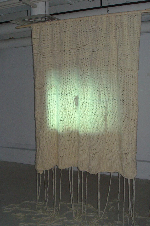Jacquelyn Hebert knitted film screen