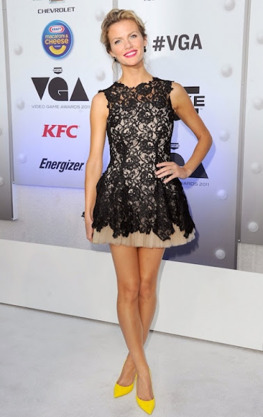 Brooklyn Decker in Nha Khanh & Jimmy Choos