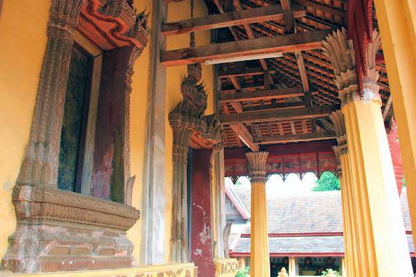 Temple thaïlandais à Vientiane - Wat Saket