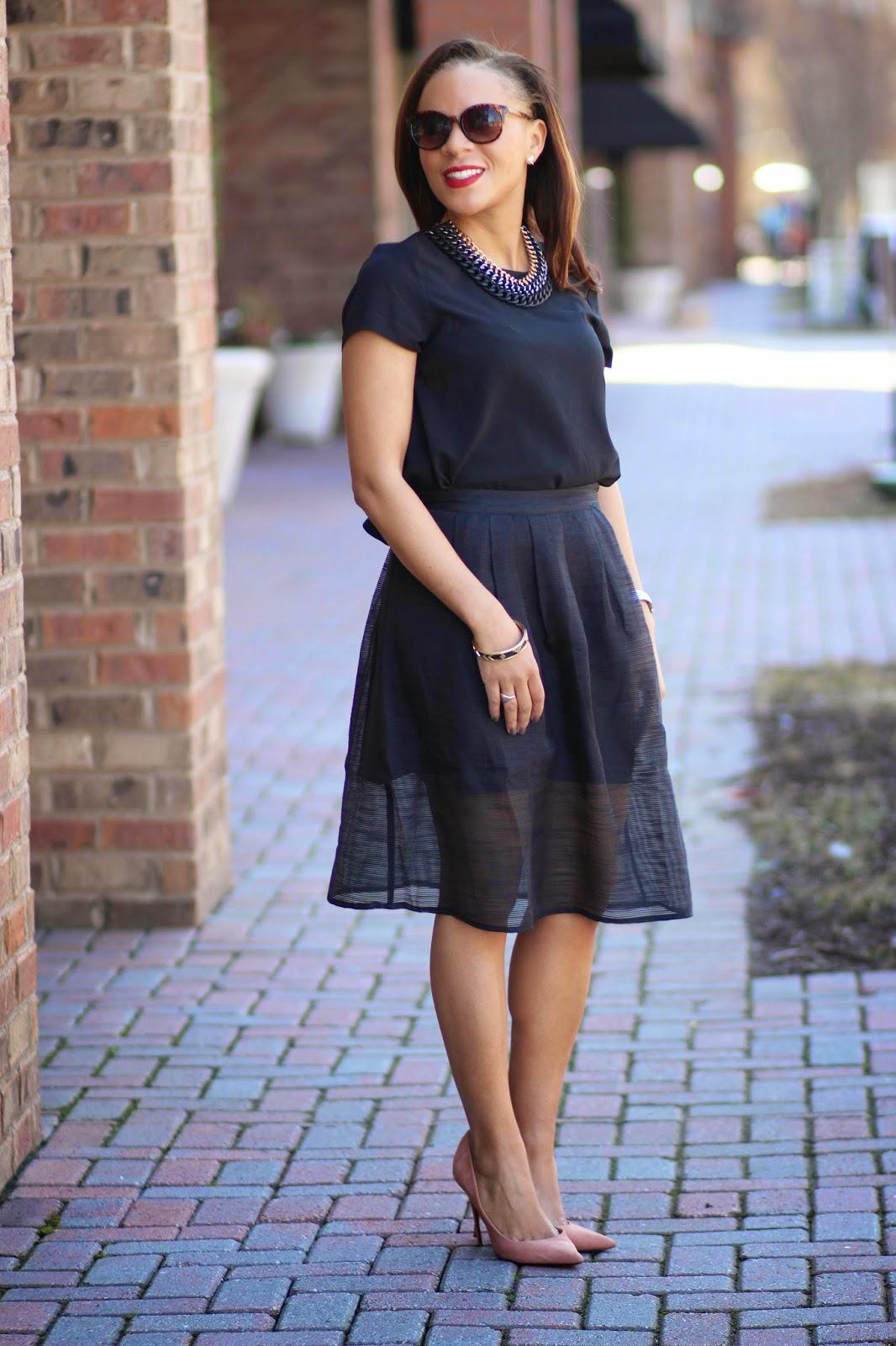 Black-midi-skirt