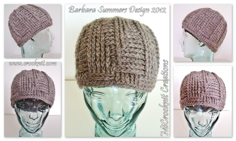 MICROCKNIT CREATIONS: Crochet for Men - the MAN hat
