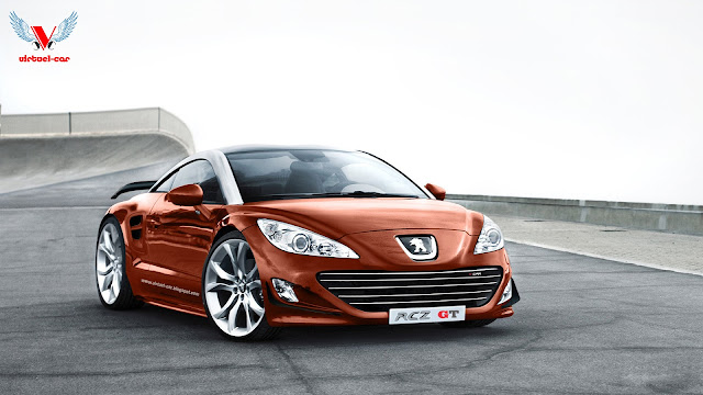 peugeot rcz gt virtuel car. Black Bedroom Furniture Sets. Home Design Ideas