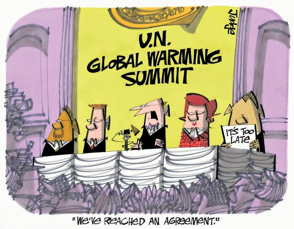 Lee Judge: UNFCCC COP 20 Lima.