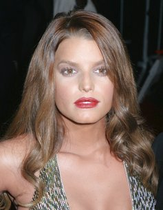 hollywood menue jessica simpson brown hair color