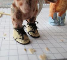 ... Einige haben Schuhe bekommen