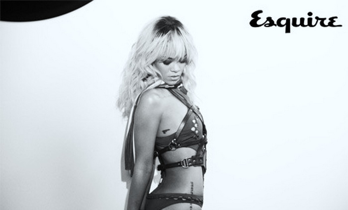 photos of Rihanna from July 2012 UK Issue of Esquire magazine