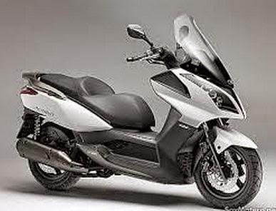 Detalle de la motocicleta Scooter más vendida del año, Grand Dink