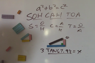 trig with base ten blocks, base 10 block trig,