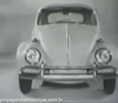 Primeira propaganda do Fusca 1300 em 1967