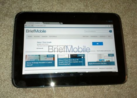 Android-Tablet Samsung Nexus 10