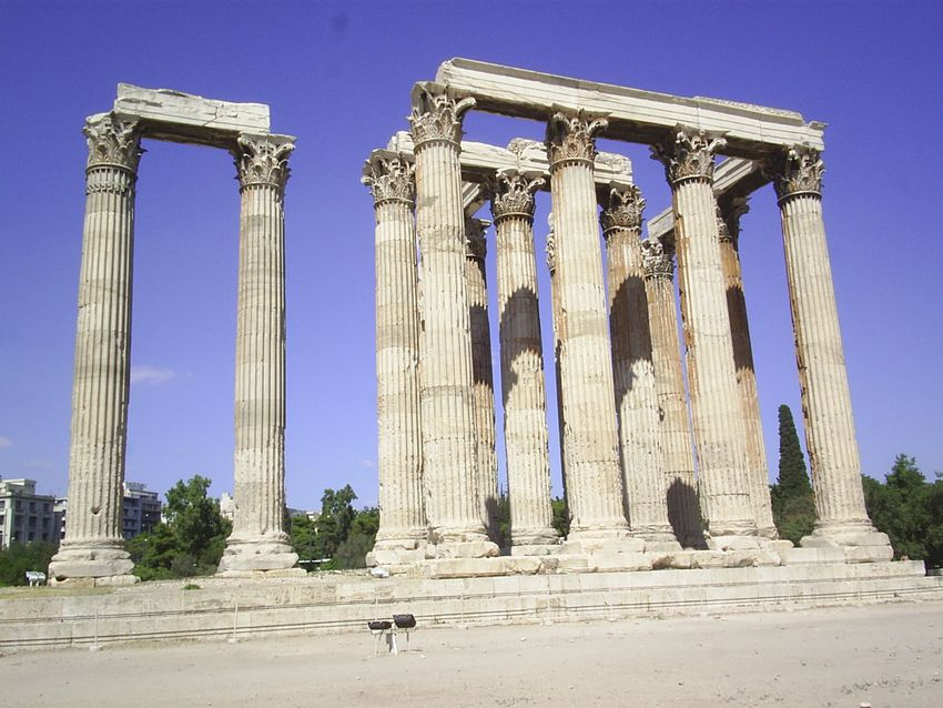Historia del arte actividades arte griego for Arquitectura de grecia