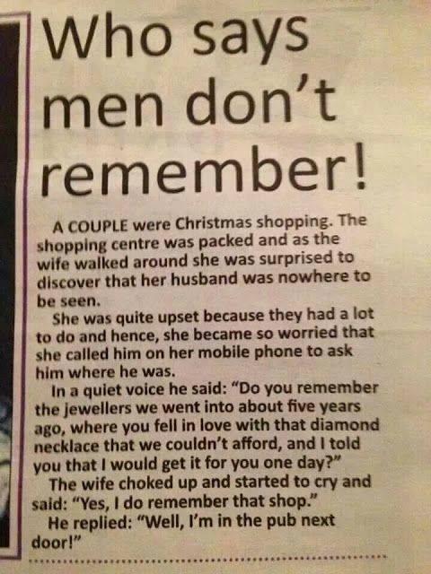 memorie masculină