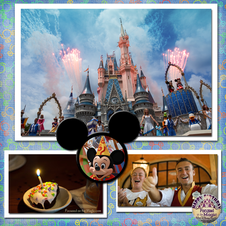 Focused on the Magic of Disney Style Celebrations