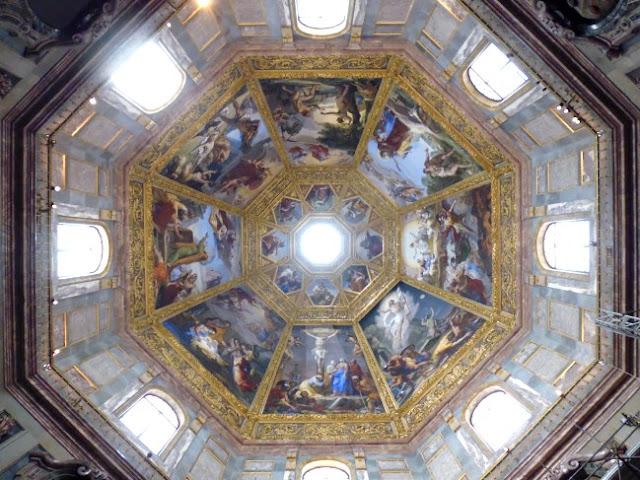 Cúpula de la Capilla de los Medici en Florencia