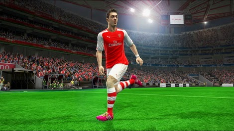 PES 2013 Arsenal FC Home Kits 14-15 by eenie meenie