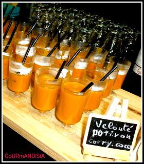 Image Velouté de potiron au curry et au lait de coco